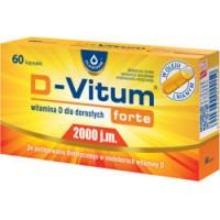 Maisto papildas D-VITUM FORTE 2000 (120 kaps.)
