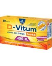 Maisto papildas D-VITUM FORTE 4000 (120 kaps.)