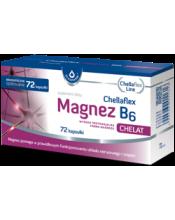 MAISTO PAPILDAS CHELLAFLEX MAGNEZ B6 (72 kaps.)